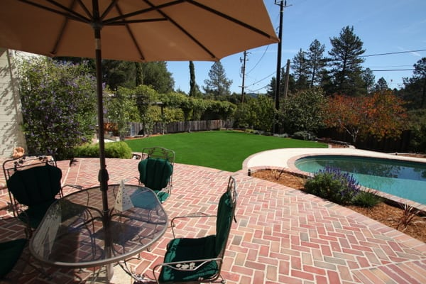 outdoor artificial turf, artificial grass